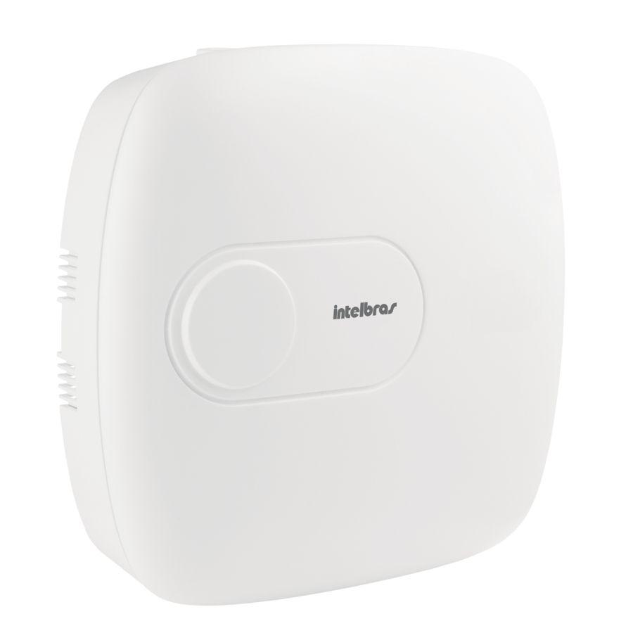 Central de alarme monitorada com até 64 zonas Mobile+PGM+Ethernet+linha+ receptor interno+ 1 controle AMT 4010 SMART NET Intelbras  - JS Soluções em Segurança