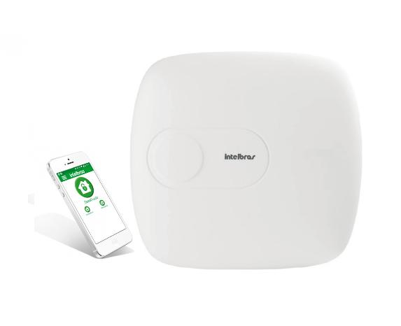 Central de alarme monitorada Intelbras Mobile/PGM/Ethernet AMT 1016 NET  - JS Soluções em Segurança