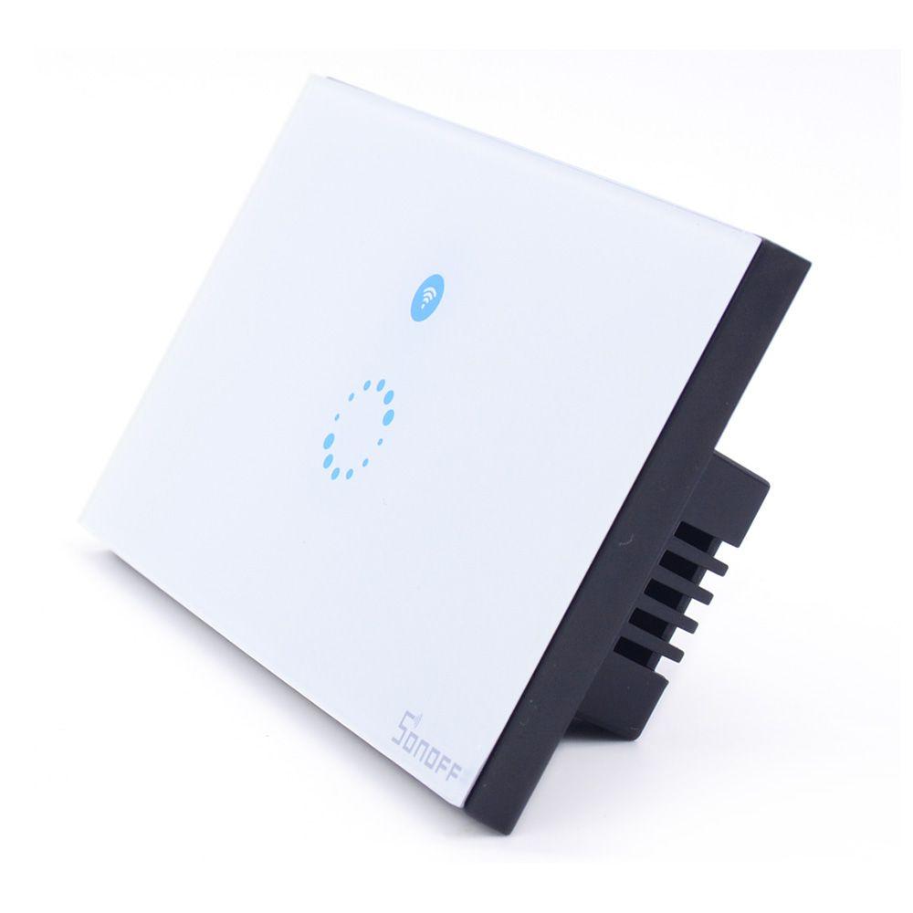 Interruptor Wifi Sonoff Touch Automação - JS Soluções em Segurança