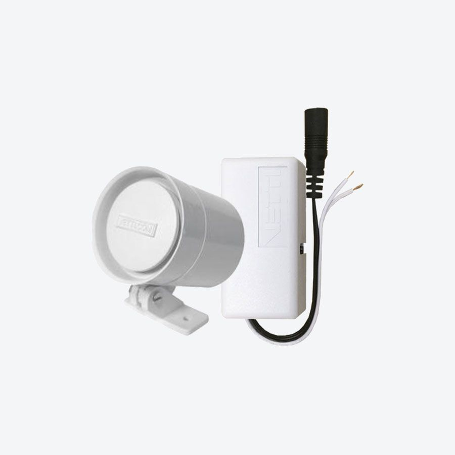 Kit Módulo Smart Sirene sem fio Vetti + sirene + fonte 12V 1A - JS Soluções em Segurança