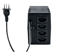 Nobreak 720 VA 220V 4 Tomadas com 1 Bateria Intelbras XNB 720 - JS Soluções em Segurança
