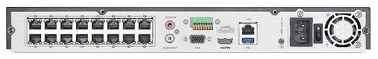NVR 16 CANAIS IP 5 MEGAPIXELS HIKVISION DS-7616NI-E2 / 16P 16 Portas PoE - JS Soluções em Segurança