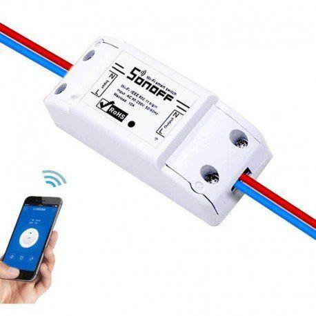 Sonoff Interruptor Wifi Automação 10A Residencial  - JS Soluções em Segurança