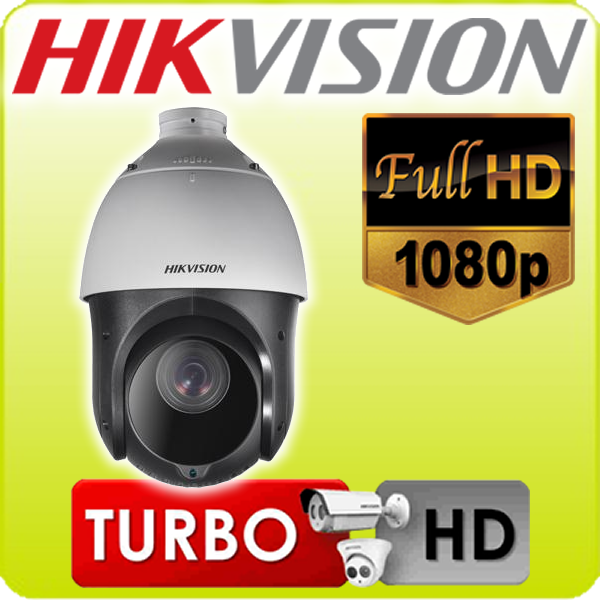 Speed dome infra turbo TVI 23x otico Hikvision menu OSD protocolo intelbras zoom direto via cabo video Full HD 1920*1080p - JS Soluções em Segurança