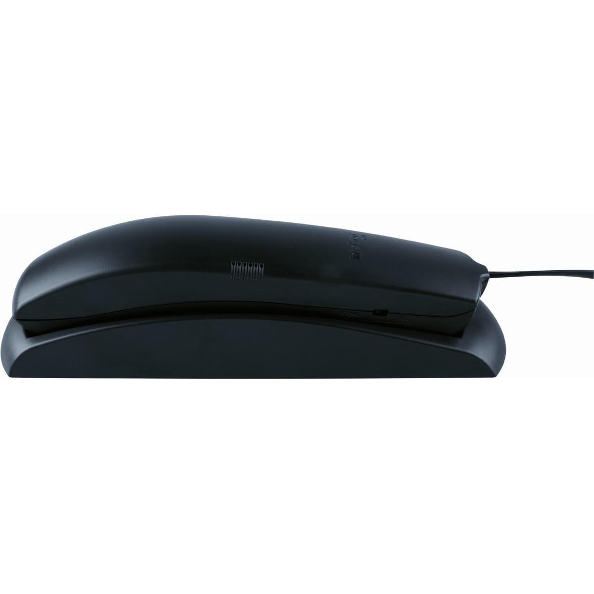 TELEFONE COM FIO INTELBRAS TC 20 - PRETO - JS Soluções em Segurança