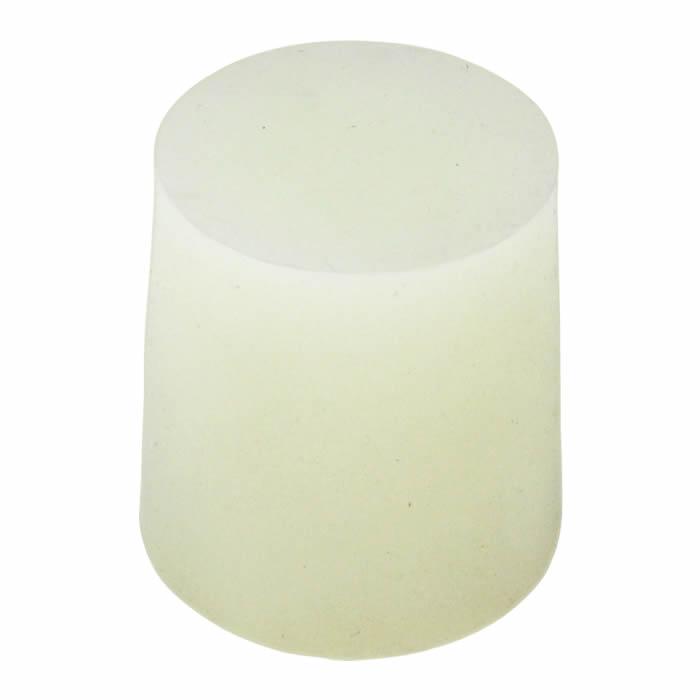 Rolha de Silicone N�7 (22,5 x 17,8 x 27,5 mm) - Embalagem com 10 pe�as
