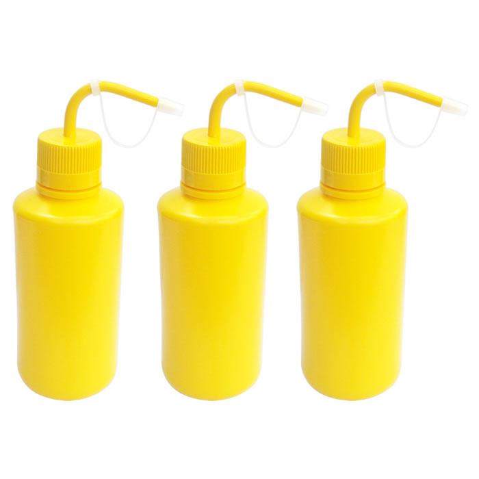 Compre 3 Pissetas em Polietileno Amarela