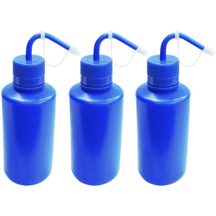 Compre 3 Pissetas em Polietileno Azul