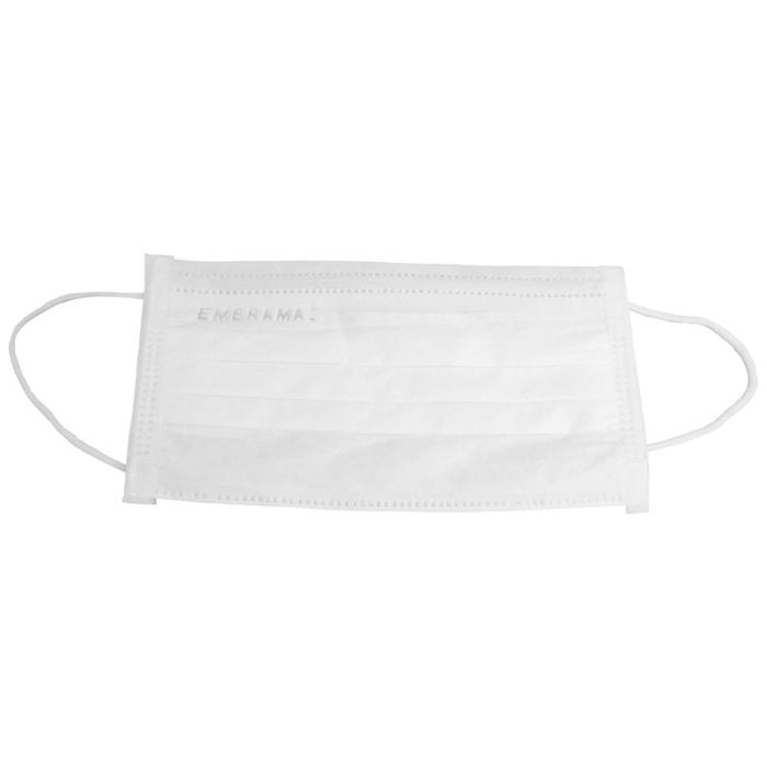 Máscara Descartável Tripla com Elástico - Pacote com 50 unidades