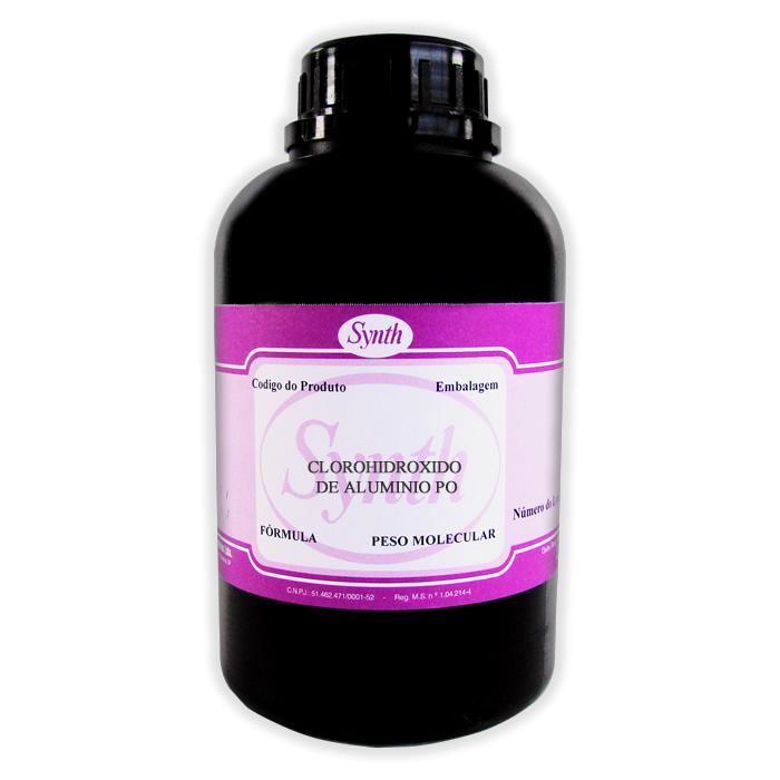 Clorohidróxido de Alumínio Pó - Embalagem 1000g