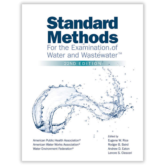 Livro - Standard Methods for the Examination of Water and Wastewater 22ª Edição
