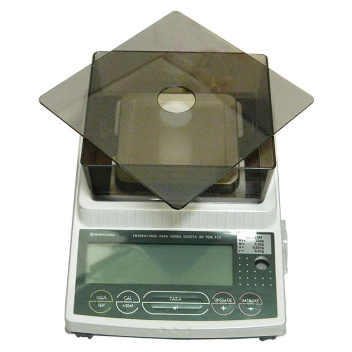 Balança Eletrônica Semi-Analítica 320g Divisão 0,001g Bivolt Ref. BL320H
