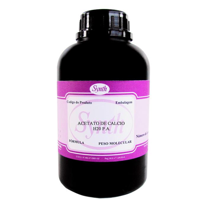 Acetato de Cálcio H20 P.A