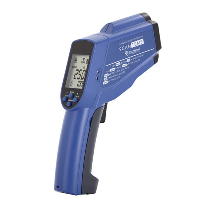 Termômetro Infravermelho Mira Laser -60+1000ºC (Pirômetro) Ref. ST-900