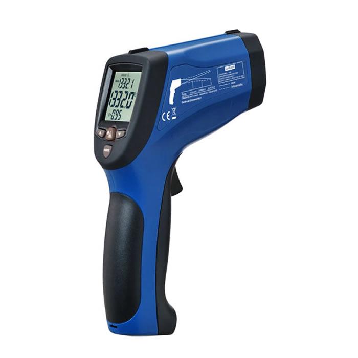Termômetro Infravermelho Mira Laser -50+1850ºC (Pirômetro) Ref.ST-1000