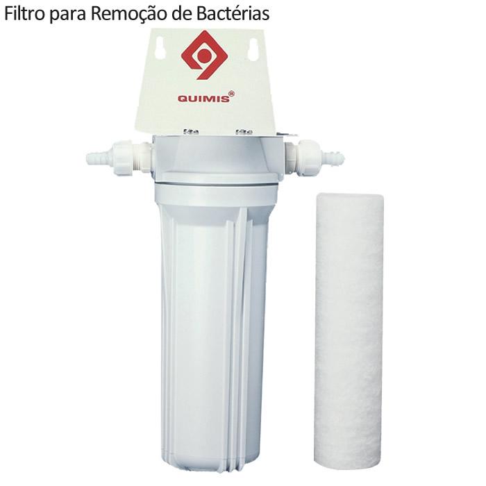 Aparelho de Osmose Reversa para 10 Litros/Hora com Filtro para Remoção de Bactérias
