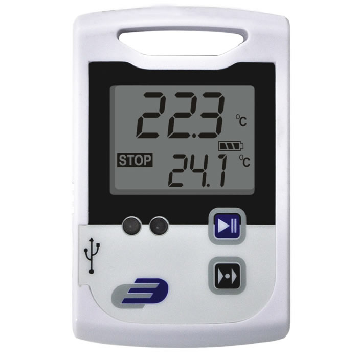 Data Logger Temperatura Interna e Externa -30+70ºC Log 100 Ref. 3030.20