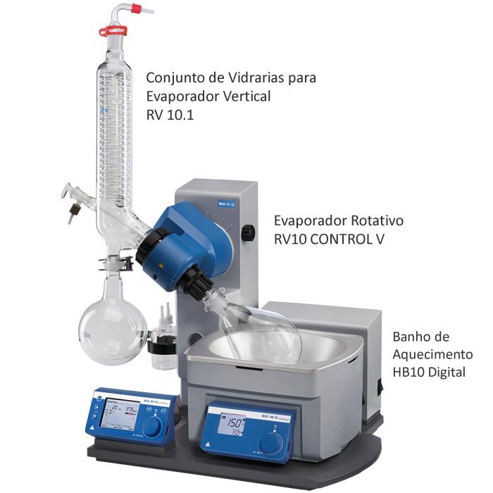 Evaporador Rotativo 1000mL 230V Ref. RV10 CONTROL V