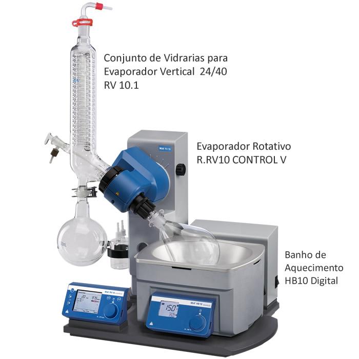 Evaporador Rotativo 1000mL 24/40 230V Ref. R.RV10 CONTROL V
