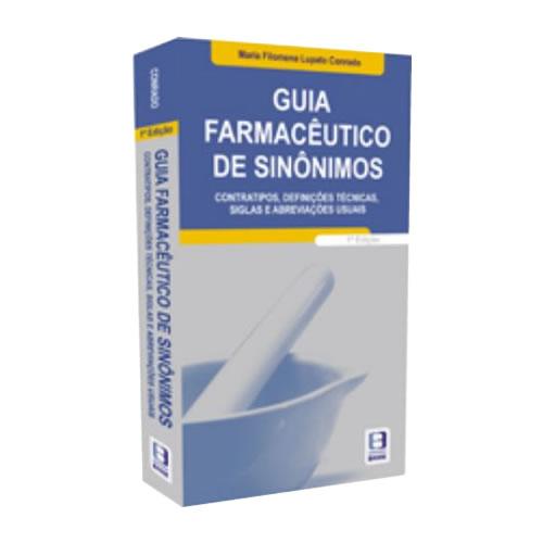 Livro - Guia Farmacêutico de Sinônimos 1ª Edição