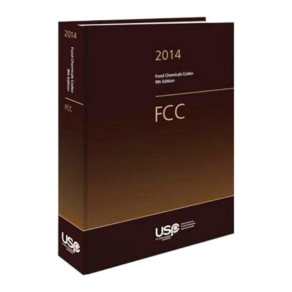Livro - Food Chemicals Codex (FCC) 2014 9� Edi��o