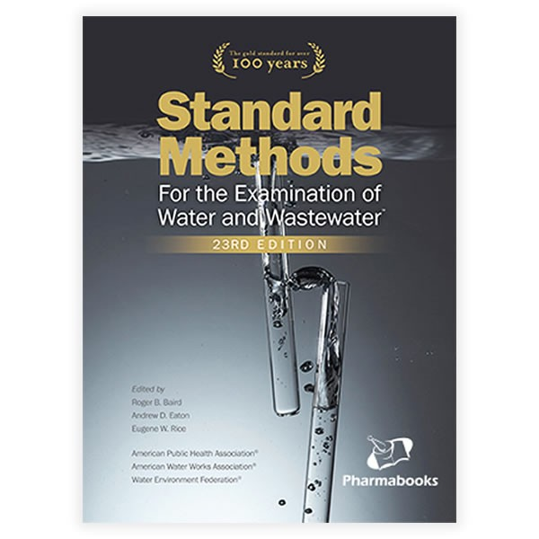 Livro - Standard Methods for the Examination of Water and Wastewater 23ª Edição 2017