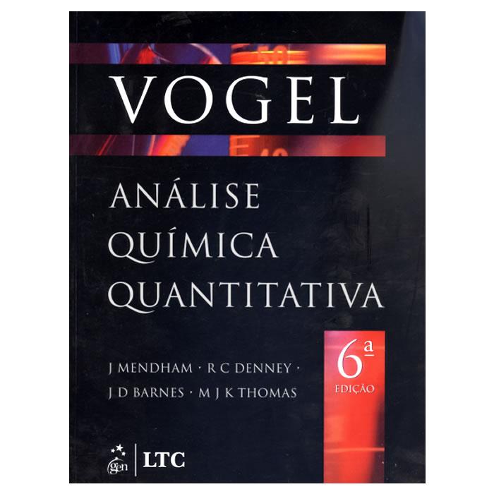 Livro - VOGEL - Análise Química Quantitativa - 6ª Edição
