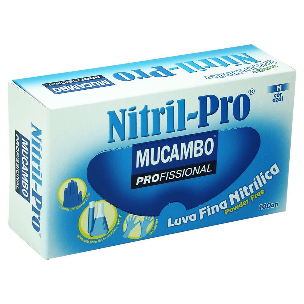 Luva de Nitr�lica para procedimento sem Talco Nitril Pro 899 - Caixa com 100 unidades