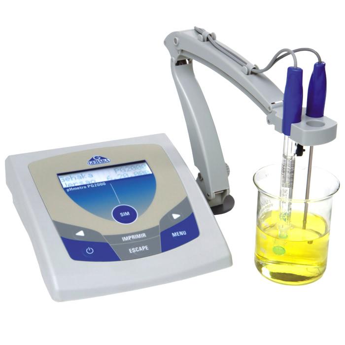 Medidor de pH de Bancada Microprocessado Bivolt Ref. PG 2000