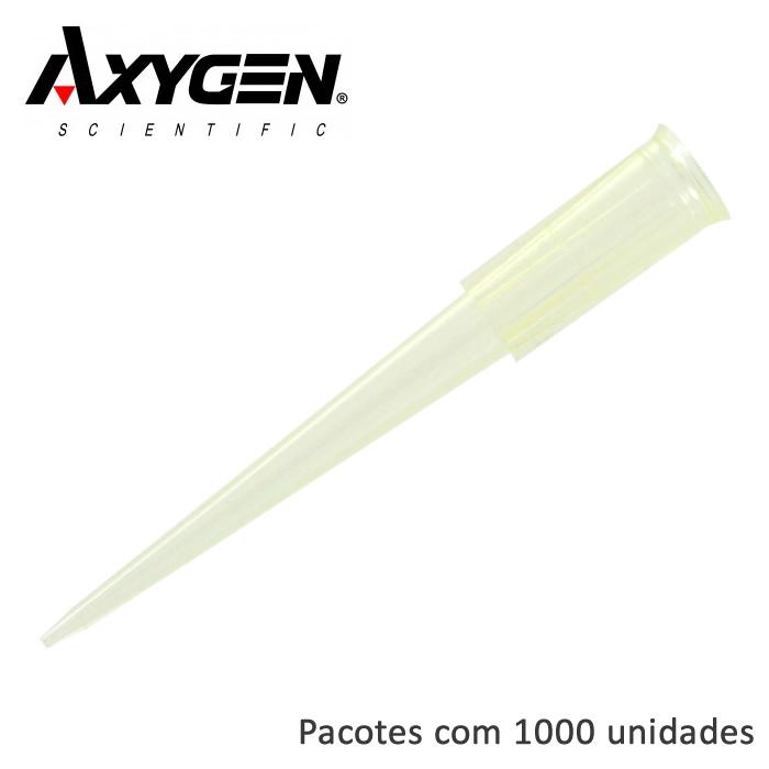 Ponteira Amarela de 1-200uL Sem Filtro Ref. T-200-Y