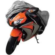 Capa Protetora Para Cobrir Moto (100% Impermeável com forro) - G - RPC-COMMERCE