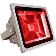 Kit com 10 Refletores Holofotes Led RGB 10W Controle 16 Cores - RPC-COMMERCE