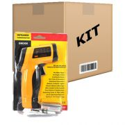 Kit 10 Termômetros Digital Infravermelho com Mira Laser (-50º a 420º C) - RPC-COMMERCE