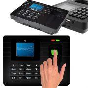 Relógio De Ponto Biométrico Impressão Digital Eletrônico - RPC-COMMERCE