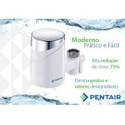 Filtro Purificador Água p/ Torneira Portátil Pentair Inmetro  - RPC-COMMERCE