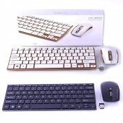 Teclado Mouse S/Fio Ultrafino 2.4ghz Wireless Usb WIFI HK3910 - RPC-COMMERCE