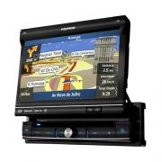 DVD Player Automotivo P�sitron SP6900 NAV com Tela 7� Touch Screen, TV Digital, GPS, Viva Voz Bluetooth, USB, SD, Entrada Auxiliar e Controle Remoto  - AMKG