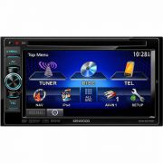 DVD Player Kenwood DDX-4070BT tela 6.1� 2 Din -  Bluetooth, entrada USB, Ilumina��o em LED, 6 sa�das RCA, Interface APP iPod/iPhone, entrada comando de volante e sa�da AV  - AMKG