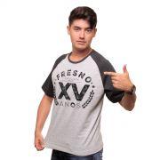 Camiseta Raglan Premium Masculina Fresno XV Anos