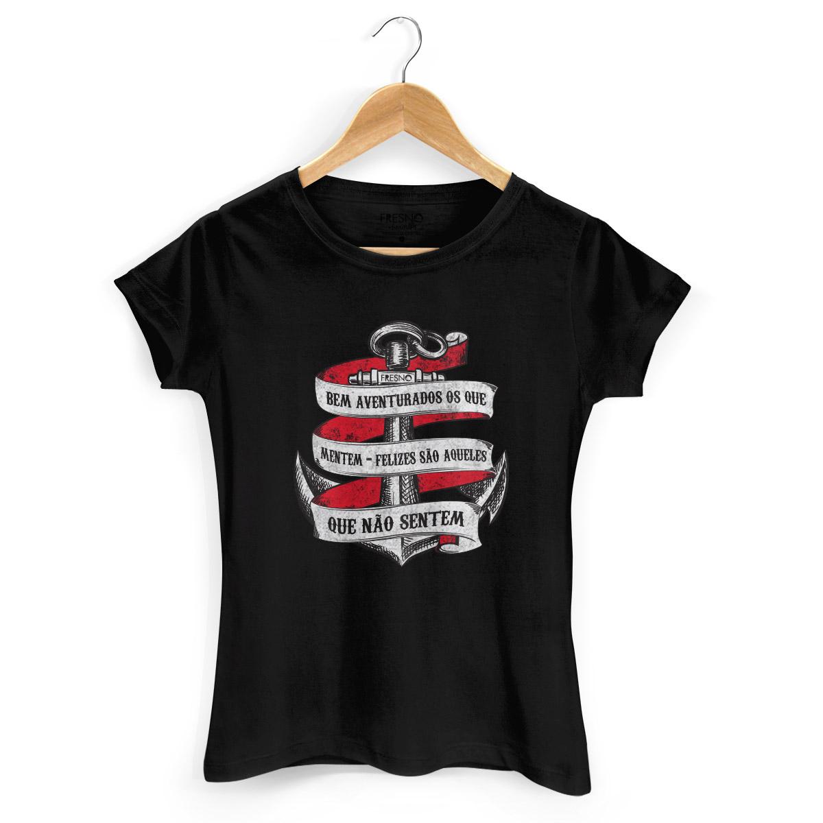Camiseta Feminina Fresno Bem Aventurados os Que Mentem 2