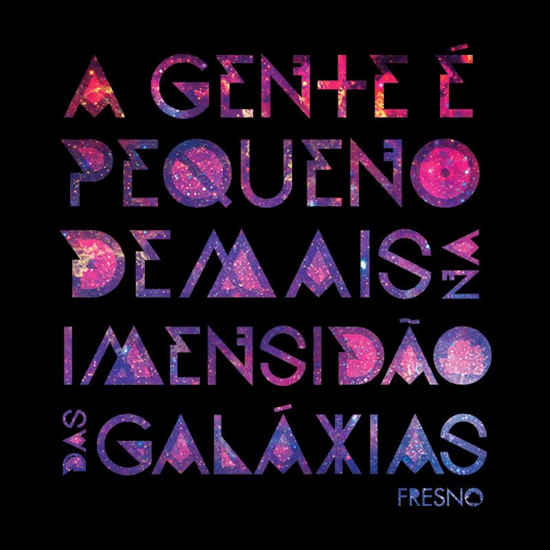 Camiseta Feminina Fresno - Galáxias Preta