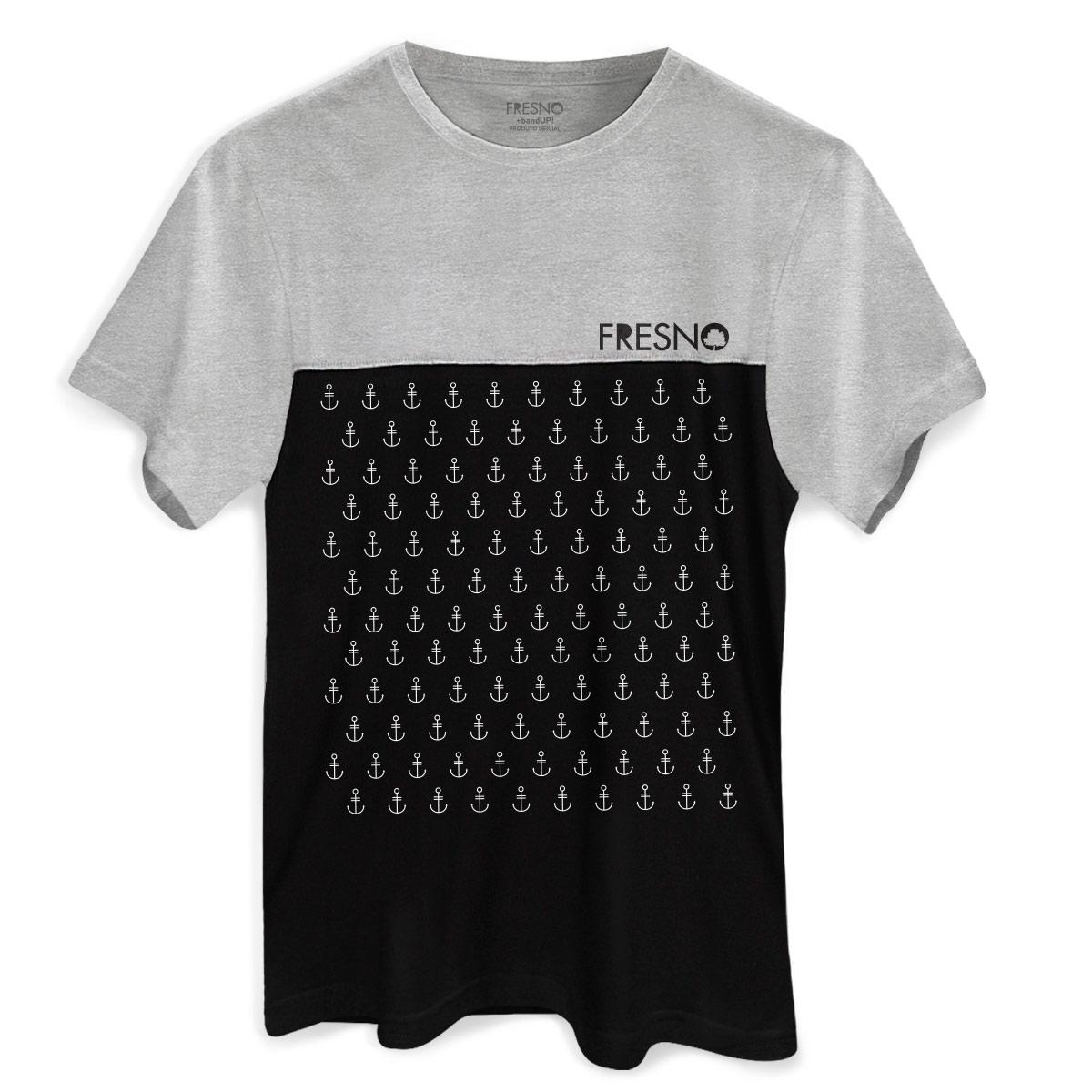 Camiseta Masculina Bicolor Fresno Âncoras