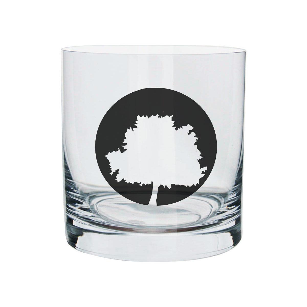 Copo Para Whisky Fresno Logo Árvore