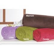 Manta Casal com cores para escolha em Microfibra - Manta Terlizze - Casa Sua Beleza