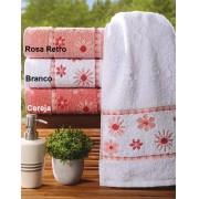 Toalha Rosto com cores para escolha em 100% Algod�o Gramatura 410g/m2 com 1 pe�as - Toalha Melara