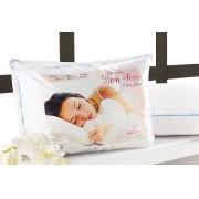 Travesseiro Anti Acaro, Anti Alergico e Lavavel em Fibra Siliconada - Travesseiro Bom Sono