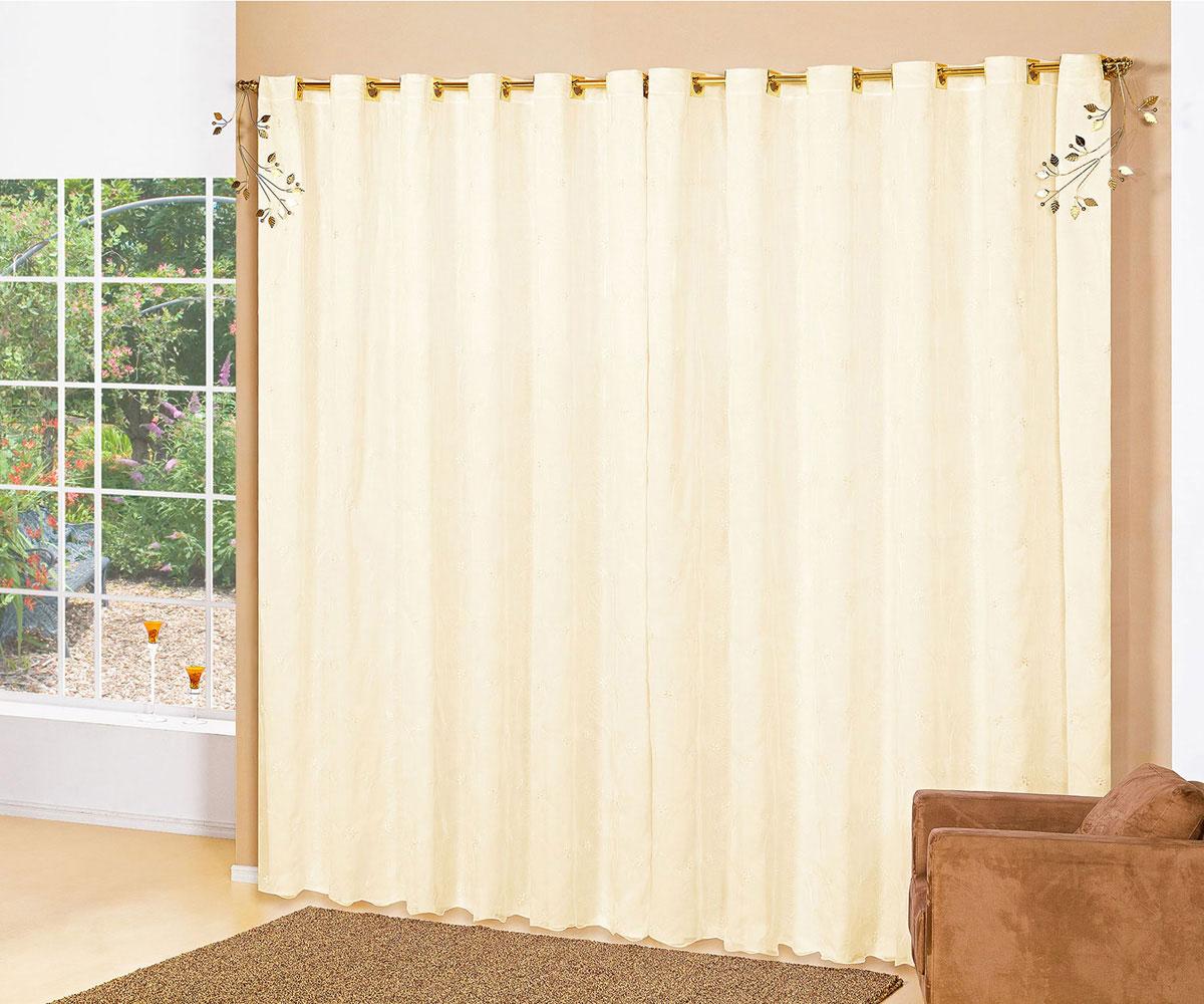 de voal de 02 metros na cor lilas e para varao simples cortina de sala