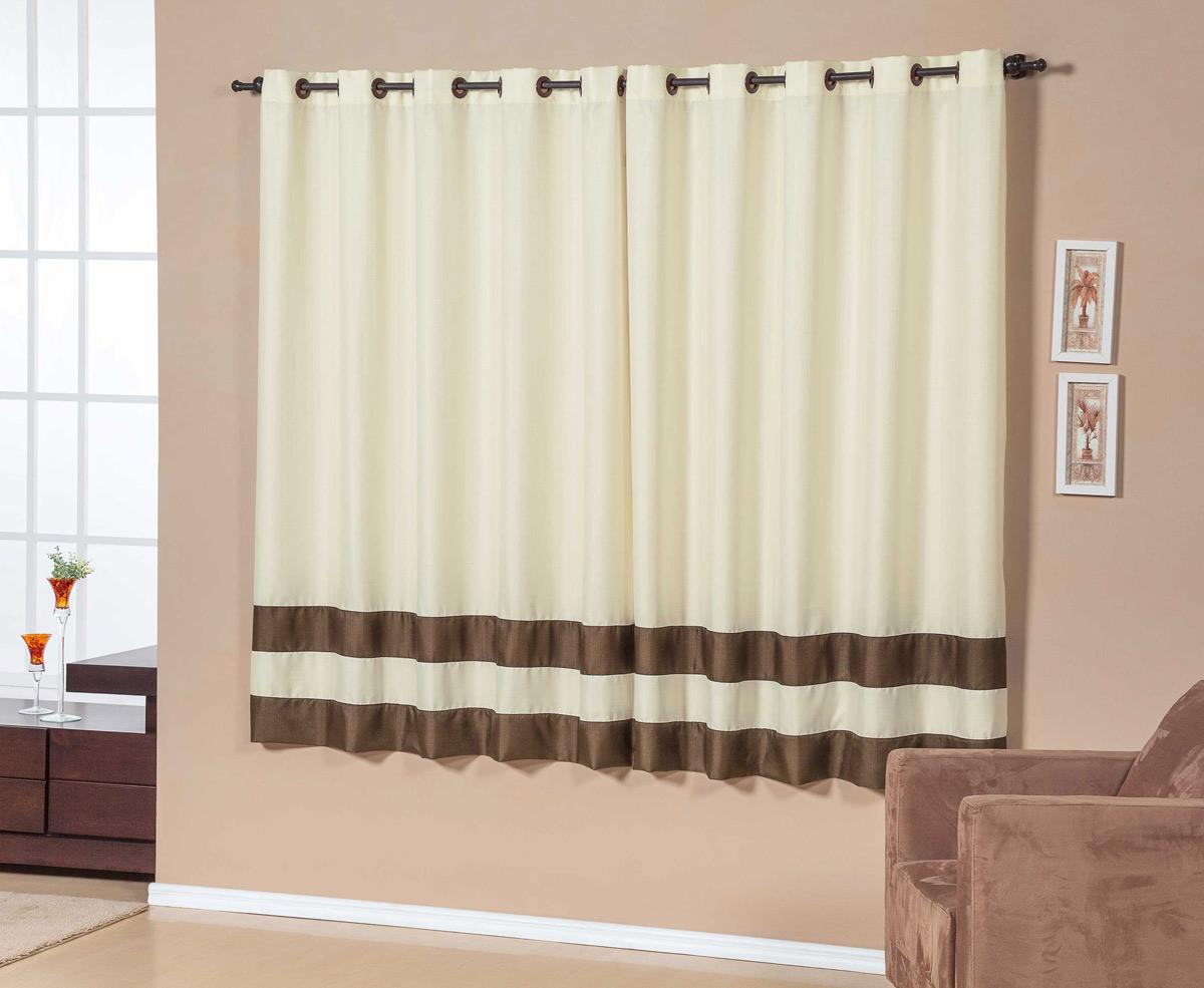 fotos de cortina para sala e quarto de 2 metros na cor cinza para #B1401A 1200 985