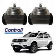02 Cilindros de Roda Aluminio Controil Renault Duster 2012 a 2017 c3431