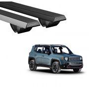 Rack Travessa Jeep Renegade C Longarina Teto Longlife Grip Aluminio